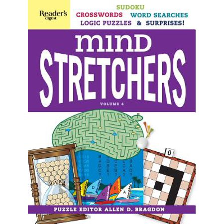Reader's Digest Mind Stretchers Puzzle Book Vol. 4 : Number Puzzles, Crosswords, Word Searches, Logic Puzzles and - Halloween Crossword Word Search Printable