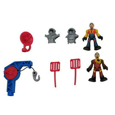 Action Sky Hook (Imaginext Fisher-Price Sky Racers Carrier - Replacement Figures, Armor, Hook T4949)