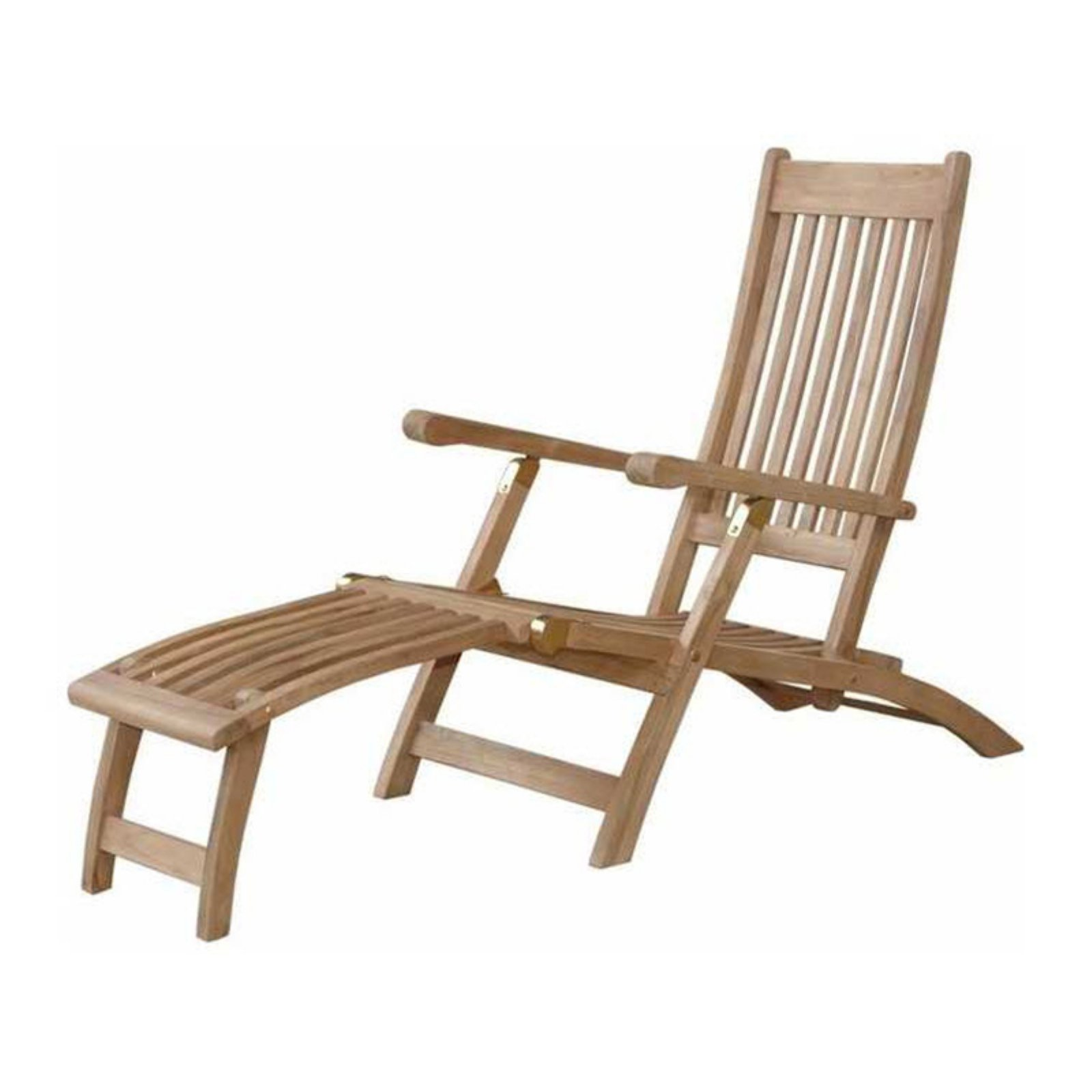 Anderson Teak Tropicana Steamers Outdoor Lounge Chair