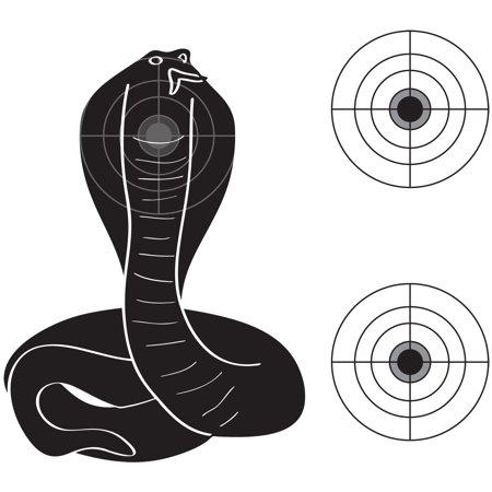 Practice Shooting Targets - Snake Practice Target Fun Style Shooting Targets