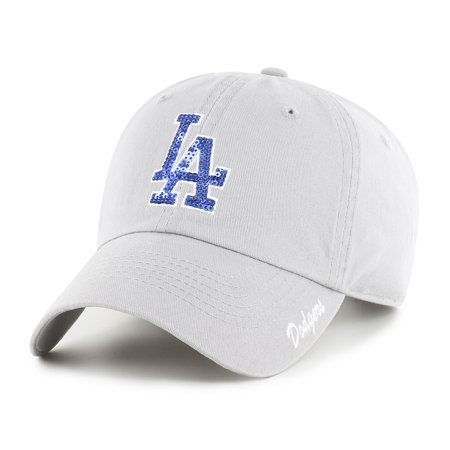 Mlb Dodgers Table (MLB Los Angeles Dodgers Sparkle Adjustable Cap/Hat by Fan Favorite )
