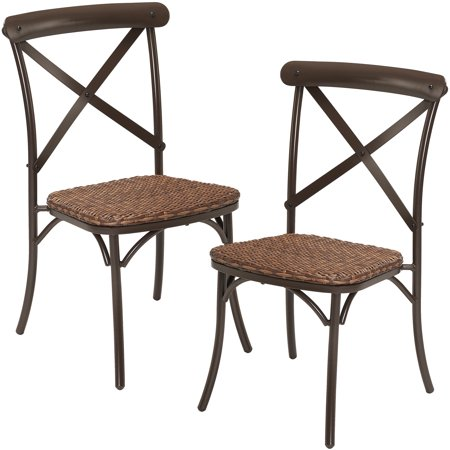 Better Homes Gardens Camrose Farmhouse 2 Piece Dining Chairs
