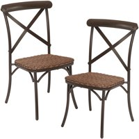 Better Homes & Gardens Wicker Camrose Farmhouse 2-Piece Dining Chairs
