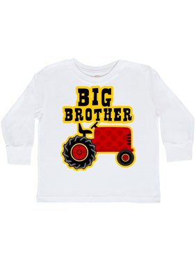 b17348f9c Product Image Red Tractor Big Brother Toddler Long Sleeve T-Shirt