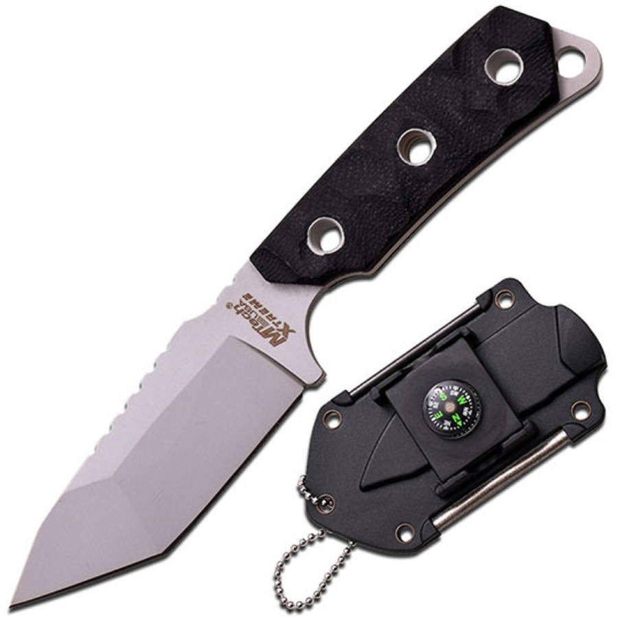 Camping Neck Knife w/Compass