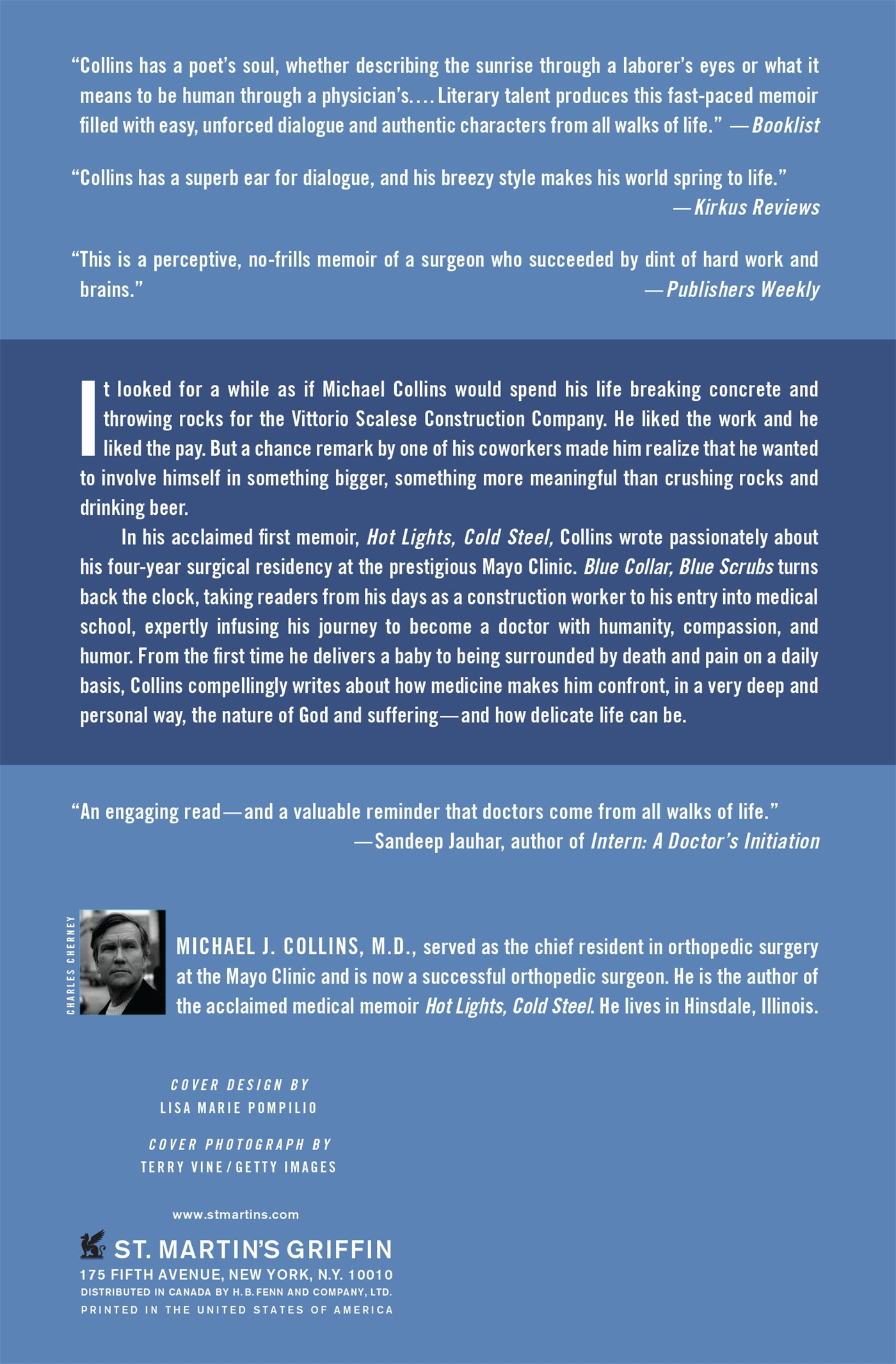Blue Collar, Blue Scrubs : The Making of a Surgeon