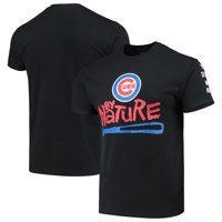 Chicago Cubs Naughty by Nature Baseball T-Shirt - Black