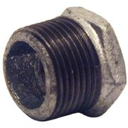 Pannext Fittings G-BUS0302 0.38 x 0.25 in. Galvanized Hex Bushing