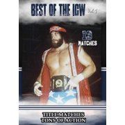 The Best of ICW Wrestling Volume 2 (DVD) by Music Video Dist
