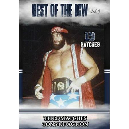 The Best of ICW Wrestling Volume 2 (DVD)