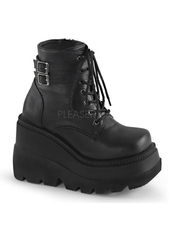 Demonia Vegan Boots Womens SHA52/BVL Size: 10