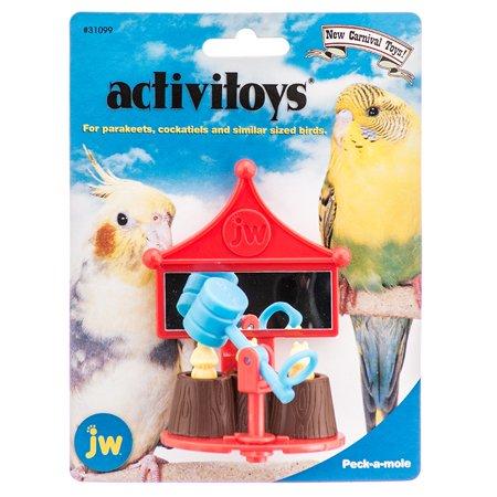 Activitoys Bird (JW Activitoys Peck-A-Mole Plastic Bird Toy 3\