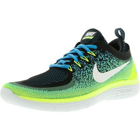 buy popular 80eb2 9bd6b Nike - Nike Mens Free Rn Distance 2 Chlorine Blue  White Ank