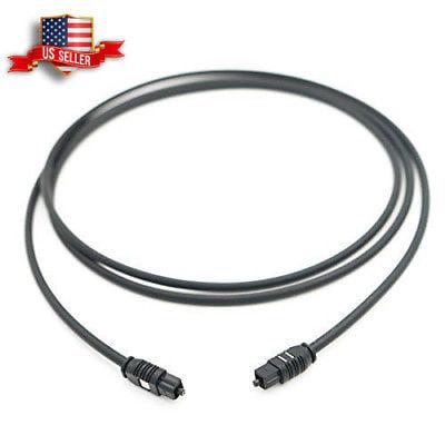 5ft Digital Optical Audio Toslink Fiber Cable for Sound
