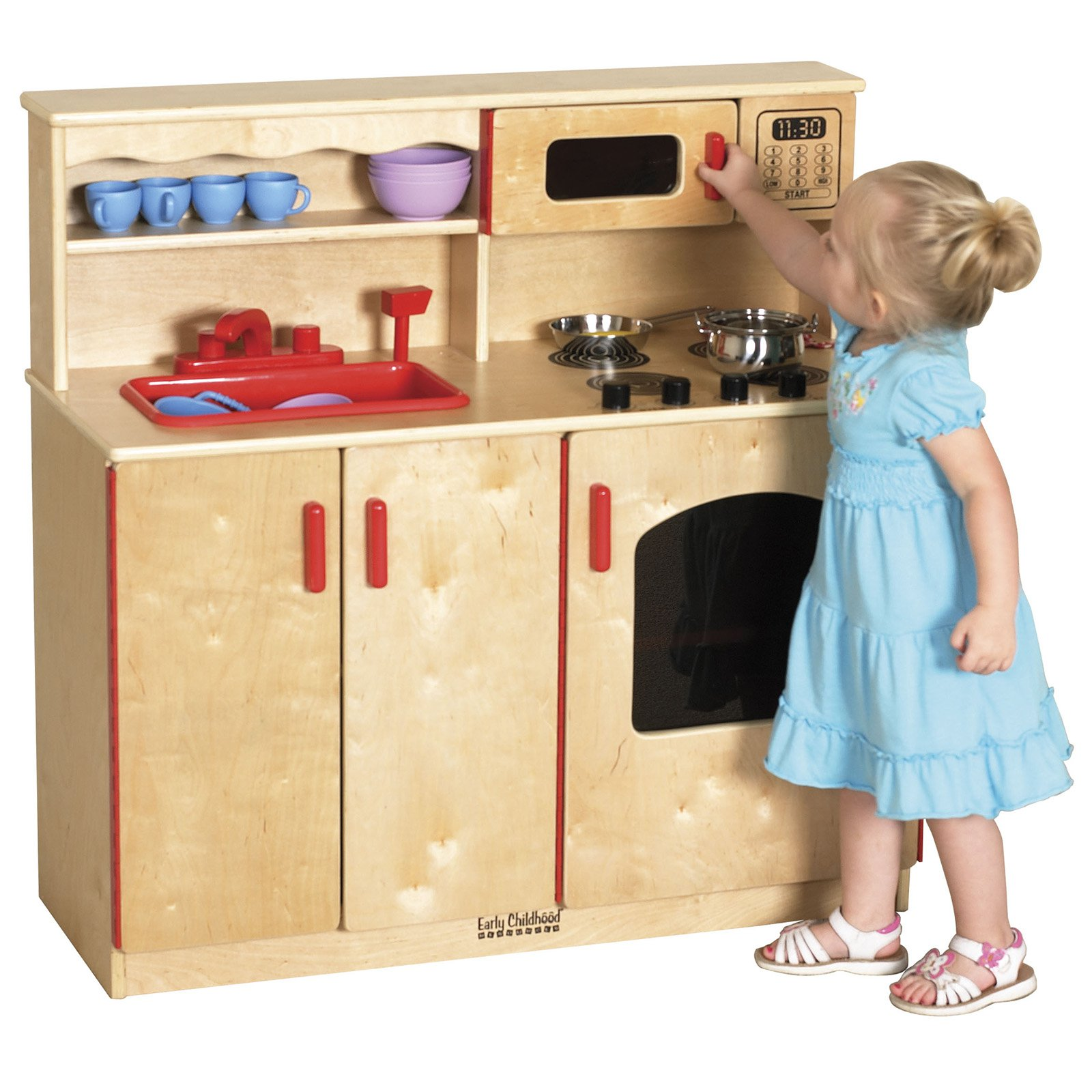 ECR4Kids 4-Piece Kitchen Set