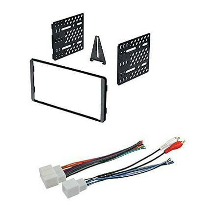 CAR RADIO STEREO RADIO KIT DASH INSTALLATION MOUNTING WIRE HARNESS FORD LINCOLN MERCURY 1998 1999 2000 2001 2002 2003 2004 2006 2007 2008 (Stereo Installation Kit)