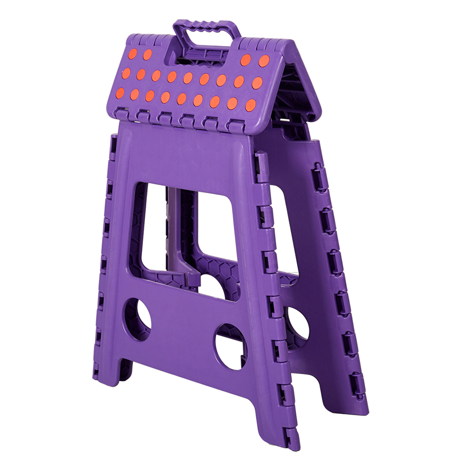 """KARMAS PRODUCT 15"""" Folding Step Stool with Handle for Adult and Kids,Kitchen Garden... by"""