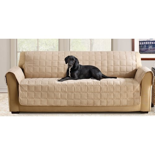 Sure Fit Ultimate Waterproof Quilted Pet Sofa Cover Walmart Com