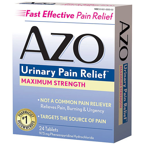 Azo Maximum Strength Urinary Pain Reliever, 97.5mg