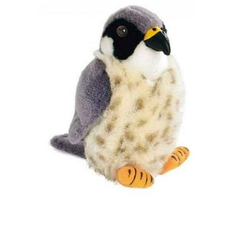 Sound Stuffed Audubon Bird - Peregrine Falcon - Audubon Plush Bird (Authentic Bird Sound)
