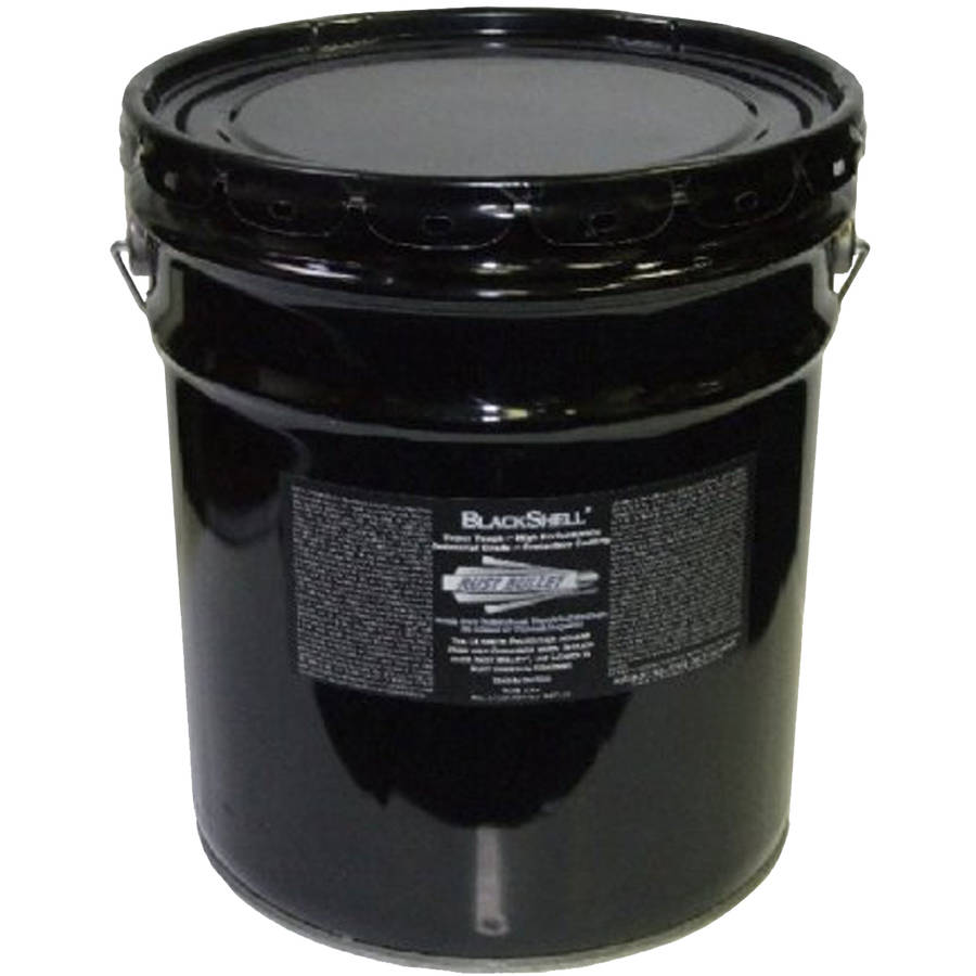 Rust Bullet BlackShell, Rust Preventive and Protective Coating, 5-Gallon Pail