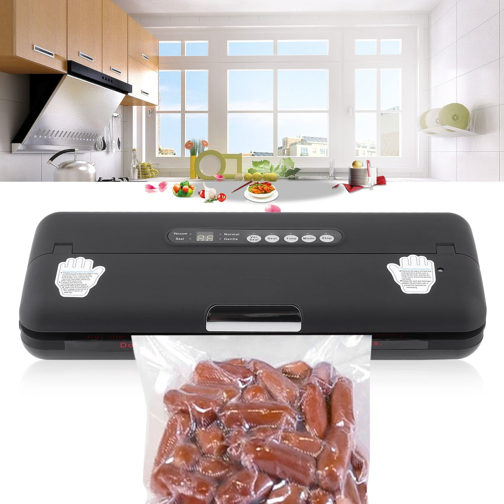 Full Automatic Vacuum Sealer US Plug Preservation Machine Wet And Dry Dual Use Food Packer Lightweight Package Container