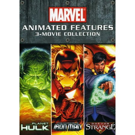 Marvel Animated Features  3 Movie Collection