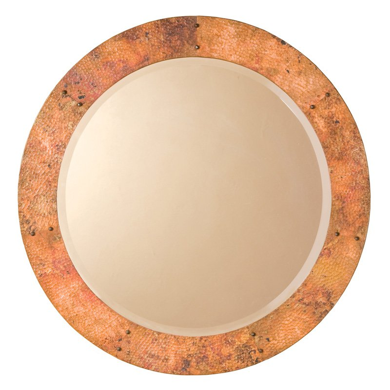 Native Trails Tuscany Round Mirror 36 diam. in. by Native Trails