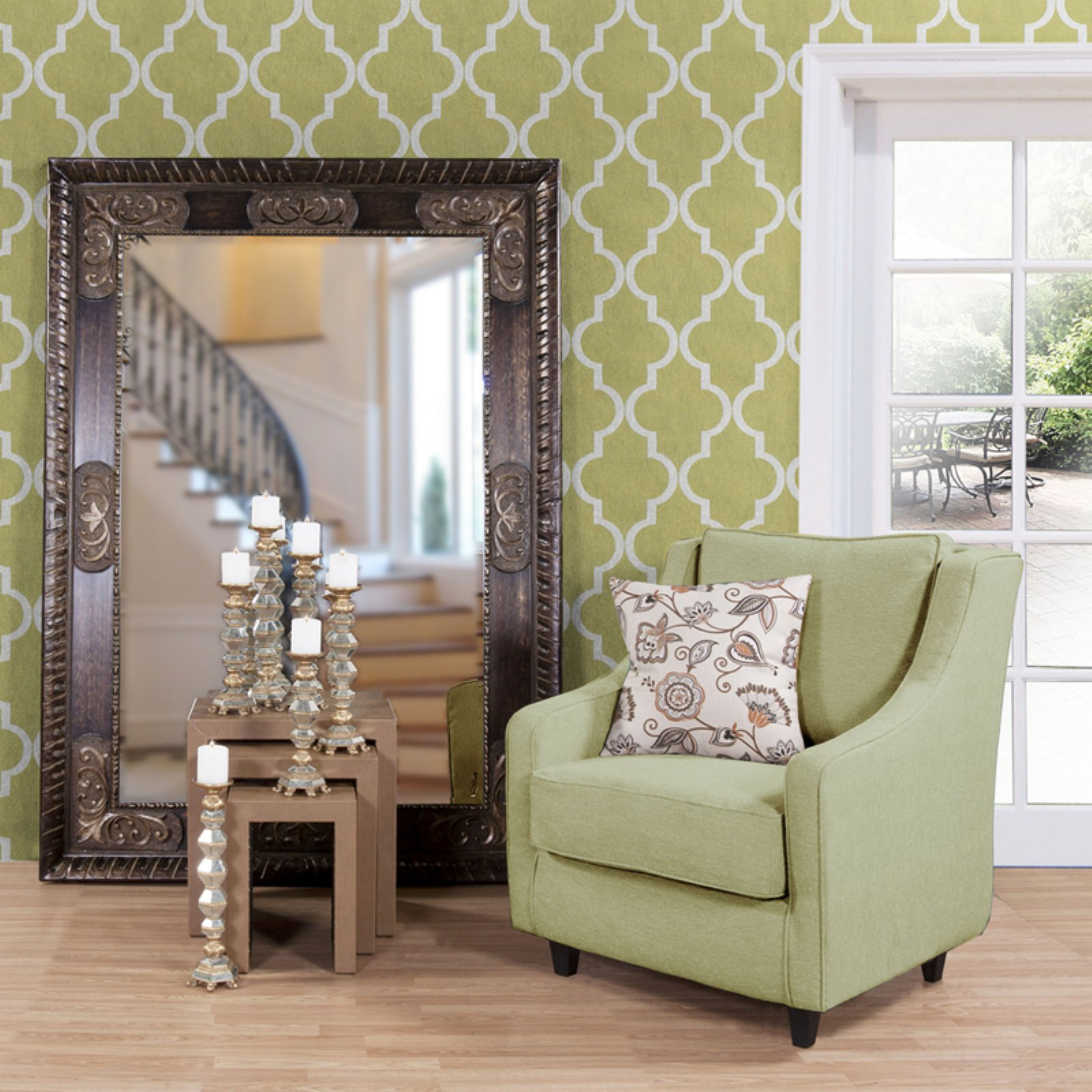 Belham Living Tate Oversized Mirror 60W x 84H in. by Howard Elliott Collection