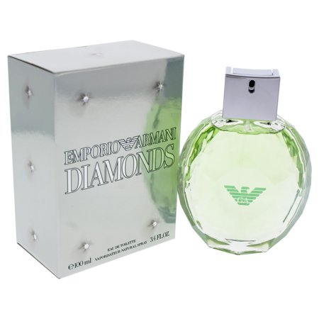 Emporio Armani Diamonds by Giorgio Armani for Women - 3.4 oz EDT Spray