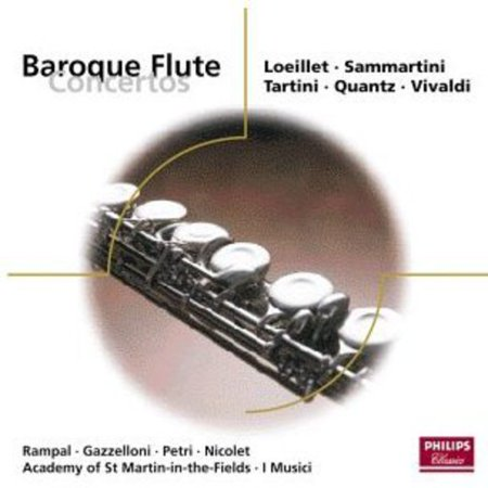 Baroque Flute Concertos (Baroque Flute)