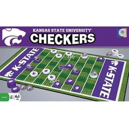 - MasterPieces Kansas State Wildcats Checkers
