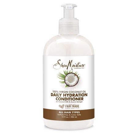 SheaMoisture 100% Virgin Coconut Oil Daily Hydration Conditioner, 13