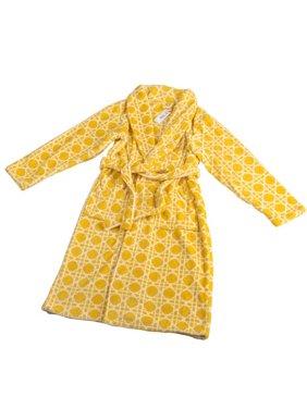 Product Image Home Soft Things Cane Microfiber Flannel Fleece Bathrobe 0725f91ca