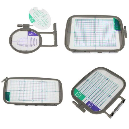 Multi-Function Embroidery Frame Hoop Sewing Machine Accessories For Brother Multi-Functional Embroidery Frame Hoop Set Sewing Craft Sewing Machine Accessories For BrotherSpecifications:Material:Nylon, Stainless steel, Ion, Paper, PPUse:As is shown in the pictureSize:S,M,L,XL,Color:As is shown in the pictureShape:oval, rectangleSize:S19*12*2.5cm/7.4*4.7*0.1 M24*18*2.4cm/9.4*7*0.9 L33*18*2.5cm/13*7*0.1 XL:45*21*3.5cm/17.7*8*1.3 Mixed: 45*21*3.5cm/17.7*8*1.3 Package Include:1*Sewing Machine Embroidery Frame(Include Frames, Hoops and Transparent Film) OR 4Pcs/Set Embroidery Frame