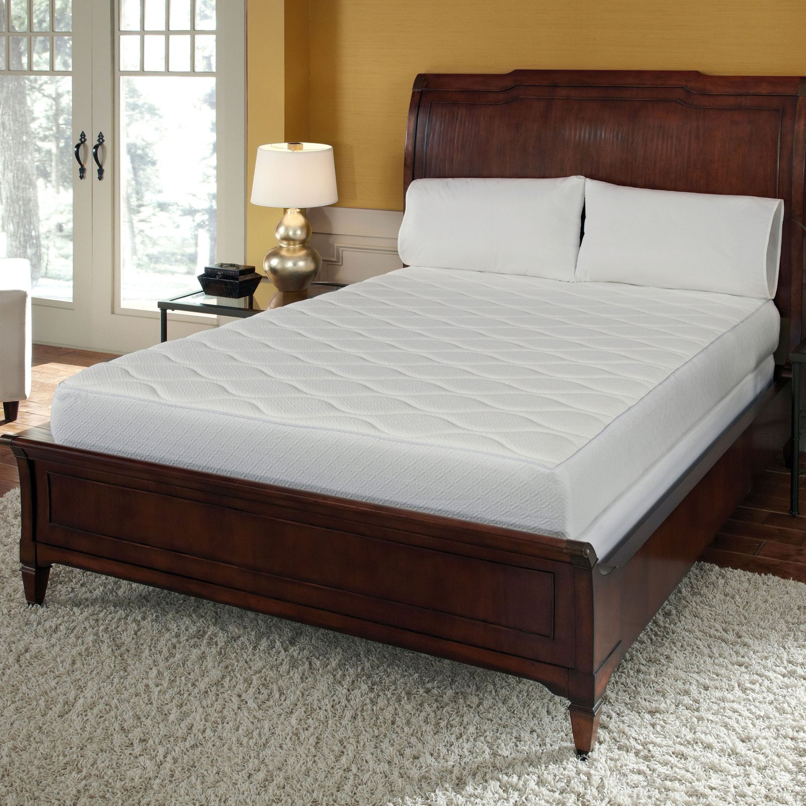 Pure Rest Quilted Top Memory Foam Mattress