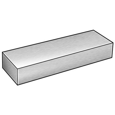 1ZDE4 Bar Stock, Aluminum, 6061, 4 x 5 In, 1 -