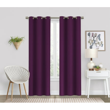 Eclipse Dayton Blackout Energy-Efficient Curtain - Two Tone Door Panel