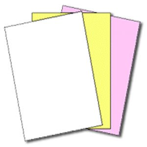 167 Sets of 3 Part NCRÂ Paper 5909 -- Straight Collated, Letter Size Carbonless Paper by Appvion, Inc