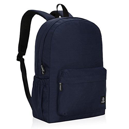 Veegul Lightweight School Backpack Classic Bookbag for Girls Boys