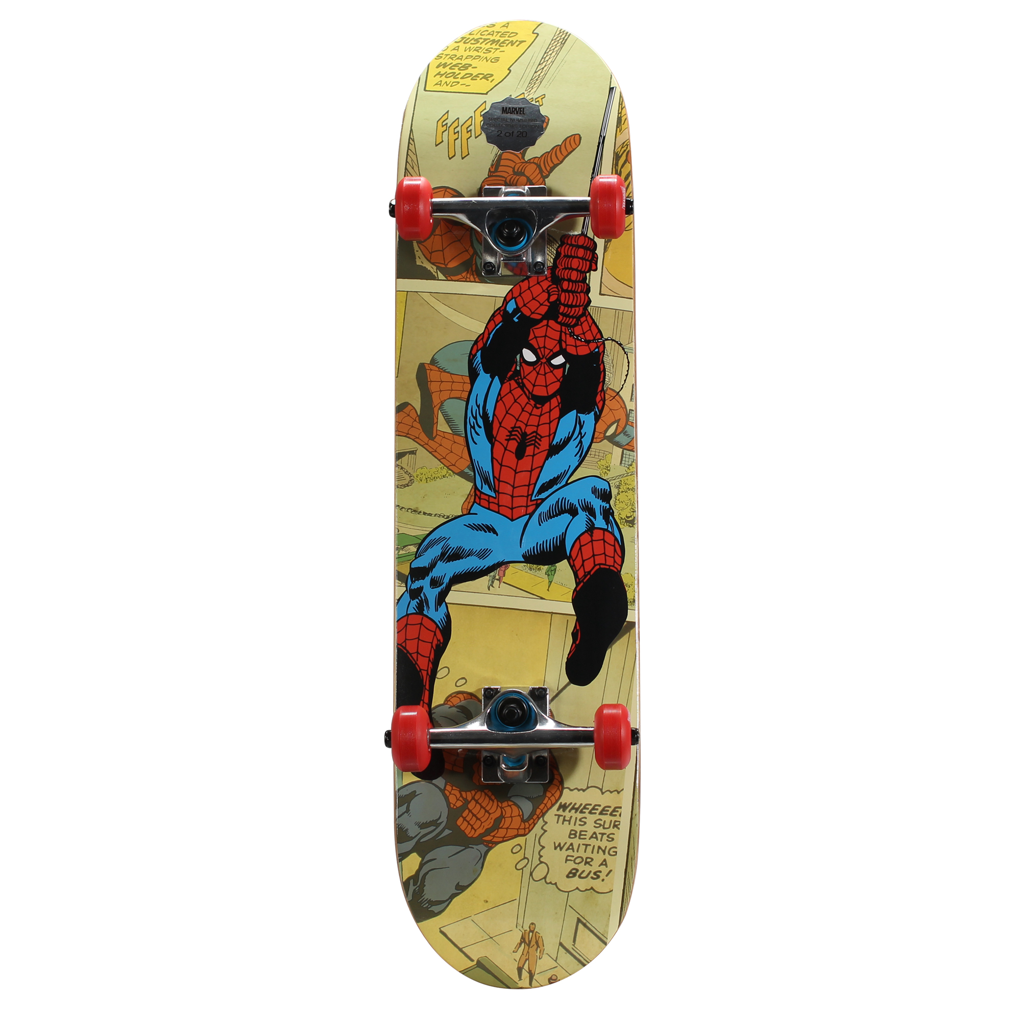 Marvel Bravo Krypto Kingpin Spiderman Skateboard