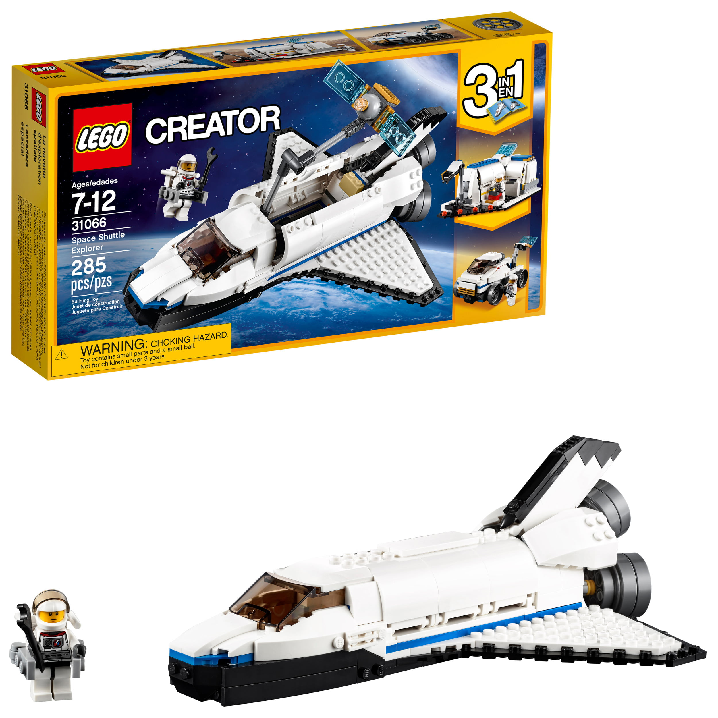 Lego Creator Space Shuttle Explorer 31066 Building Kit (285 Piece) by LEGO System Inc
