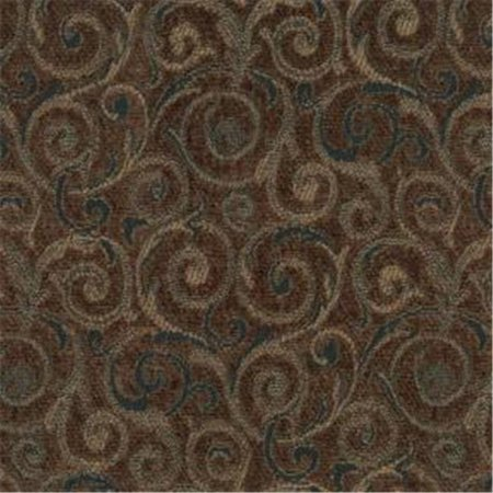 Revolve 87 Woven Jacquard Chenille Fabric, Saddle Brown - image 1 of 1
