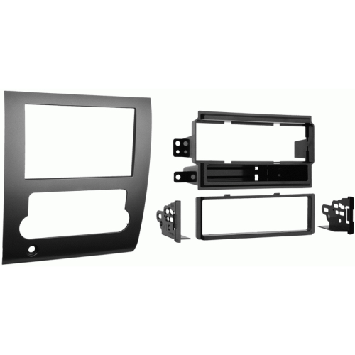 Metra 99-7424 Single DIN Stereo Dash Kit with Pocket for 2008-up Nissan Titan