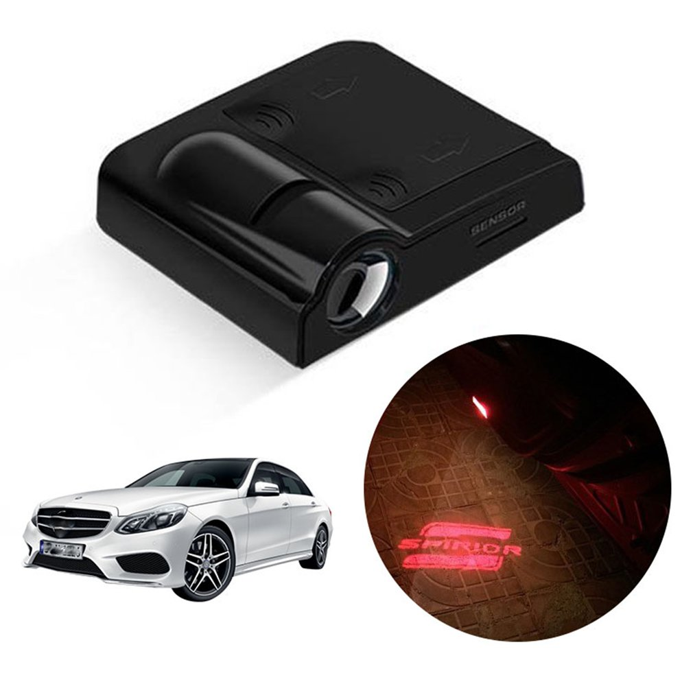 Car LED License Plate Light Projection Laser Lamp For VW COURTESY STEP LIGHT