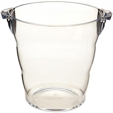 Prodyne AB-11 Acrylic Grand Wine Bucket, - Clear Bucket