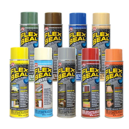Spray Rubber Seal >> Flex Seal Spray Rubber Sealant Coating 14 Oz Silver Best All