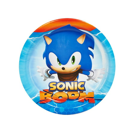 Sonic Boom Sonic The Hedgehog Party Supplies 16 Pack Dessert Plates