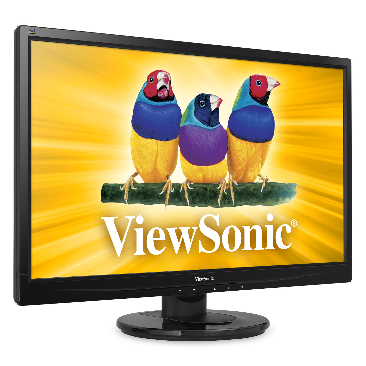 ViewSonic 24 VS15453 DVI/VGA 1080p Widescreen Ultra-Slim ...