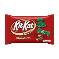 Kit Kat, Holiday Miniatures Chocolate Wafer Candy, 10 Oz